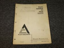 Allis Chalmers HD11EP Crawler Dozer Tractor Original Parts Catalog Manual Book