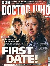 Doctor Who Magazine #495 Death to Daleks 8th Doctor & River Song Feb 2016