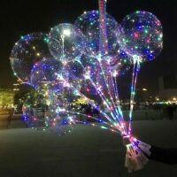 18'' Light Up Balloons Luminous Glow In The Dark Wedding Birthday Party De Nice
