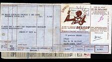 "SAINT-MAURICE (94) VIN PELURE DELORT ""Ets R. DELORT"" en 1956"