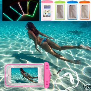 New Waterproof Underwater Transparent Pouch Bag Dry Case For Mobile Phones