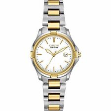 Citizen Eco-Drive Women's EW1964-58A Silhouette Quartz Two Tone 28mm Watch