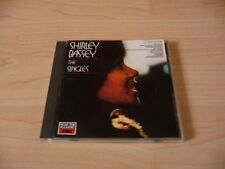 CD Shirley Bassey - The Singles - 16 Tracks incl. Diamonds are forever