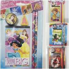 Disney Princess Stationary Set Back to School Supplies 4 Pieces + Pouch U choose