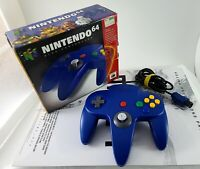 Nintendo 64 Official Blue Controller N64 Tested Made in Japan NUS-005