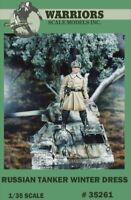 Warriors 1:35 Russian Tanker Winter Dress Resin Figure Kit #35261