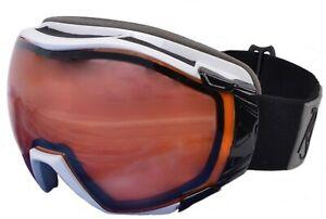 SKI & SNOWBOARD GOGGLES: UV 400 Protection. Prescription options. Mirrored Lens