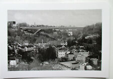 """Pont rouge"" PAFFENTHAL Luxemburg/Stadt  Karte aus Luxemburg"