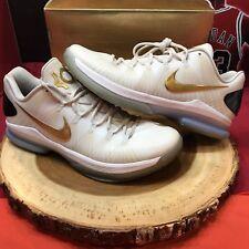 Nike KD V 5 Elite + Metallic Gold Size 11 585385-100 Olympic Finals Lebron