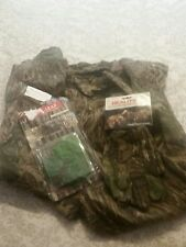 Realtree green leaf Bug Out! Camouflage Hunting set. Spartan USA Made