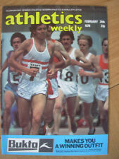 February Athletics Weekly Sports Magazines in English