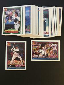1991 Topps Chicago White Sox Team Set With Traded 36 Cards