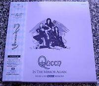 QUEEN IN THE MIRROR AGAIN More Lost BBC Sessions CD mini lp Obi NEW