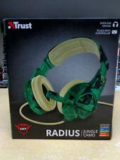 Headset- Trust Radius Jungle Camo (Camouflage)(PS4 / XBOX ONE /SWITCH)(11297499)