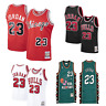 Men's Chicago Bulls Michael Jordan Mitchell & Ness Red 1984-85 Classics Jersey