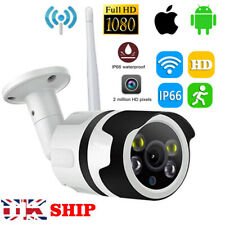 WIFI Wireless IP Camera Network Cam CCTV In/Outdoor Security IR Night 1080P HD