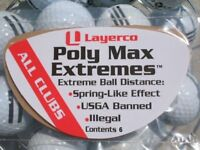 Illegal golf product Poly Max Extremes banned for Taylormade M3 M4 drivers