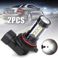 2Pcs 9006 HB4 LED Fog DRL Driving Car Head Lamp Light Bulb Super Bright White