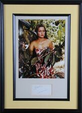 Dorothy Lamour Autograph ~ Professionally Framed/Matted Photo & Signature Card