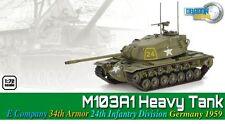 Dragon Armor 1/72 Scale WWII German  M103A1 Heavy E Company Division Tank 60691