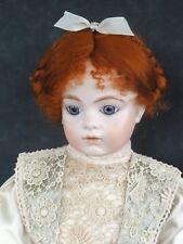 Perruque pour poupée ancienne ou moderne - Taille 2 à 6 (20 à 27 cm) 100% MOHAIR