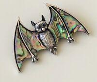 Unique vintage style  Bat Brooch  & pendant