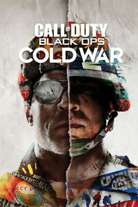 """Call Of Duty: Black Ops Cold War - Gaming Poster (Game Cover) (Size: 24"""" X 36"""")"""