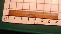Vintage Original - 6 inch Wooden Ruler - GOODY reg. US patent office