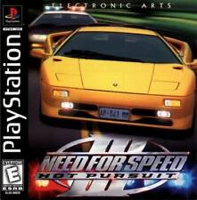 Need For Speed 3 Hot Pursuit - PS1 PS2 Playstation Game Complete