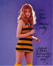 JOANNA LUMLEY Autographed Signed Photograph - To Joe GREAT, FUNNY CONTENT