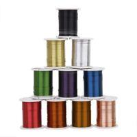 10 Rollen Kupferdraht gemischte Farbe Friesen Faden Schnur Schnur 0.3mm DIY Schm