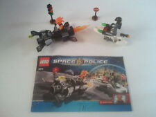 """Lego SPACE POLICE """"Freeze Ray Frenzy"""" (5970) - 100% Complete, No Box"""