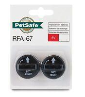 PetSafe RFA-67D-11 6 Volt Lithium Battery (Pack of 2)