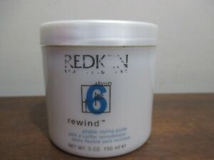Redken 6 Rewind Piable Styling Paste 5 Oz/ 150 Ml (Old Package) new