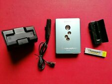 SONY CASSETTE WALKMAN WM-EX610 METAL BODY BC-7SP2 CHARGER + AA BATTERY PACK ETC