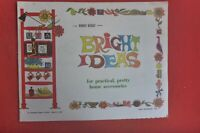 1967 BRIGHT IDEAS SUPPLEMENT BOOKLET 16 PAGES AUST WOMENS WEEKLY
