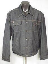Guess Jeans Vintage Long Sleeve Jacket Size Men's XL USA Cotton Pockets Gray