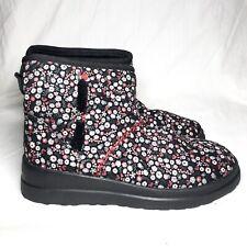 UGG Australia I love UGG special edition floral short boots women's 8