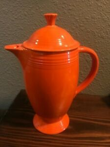 Fiestaware Vintage Red Coffee Pot