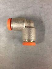 Brass Nickel Plated Pushin Elbow 8mm x 8mm metalwork