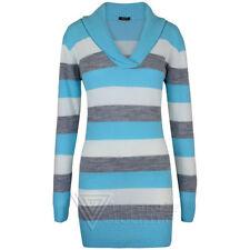 Lange gestreifte Damen-Pullover & -Strickware mit L