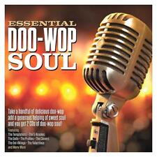 ESSENTIAL DOO-WOP SOUL - VARIOUS ARTISTS (NEW SEALED 2CD)
