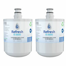 Replacement for LG LT500P ADQ72910901 Kenmore 9890 Refrigerator Water Filter 2pk