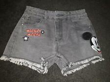 BNWOT Disney Mickey Mouse Denim Shorts 9-10years