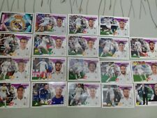 Lote de 19 cromos del Real Madrid. Liga 2015-16. Colecciones Este Panini