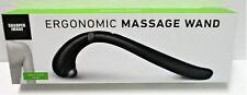 Sharper Image Ergonomic Massage Wand - Black