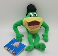 VTG Play By Play  Michigan J. Frog Bean Plush Looney Tunes Warner Bros 1998 Rare