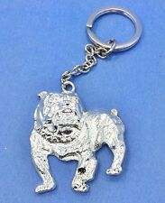 Bulldog Breed Lovers Large Key Charm on Chain or Purse Charm (Closeout)