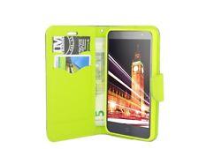 book-style custodia per cellulare Accessori BORSA BLU ALCATEL POP 4 (5051D) @