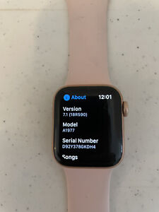 Apple Watch Series 4 Rose Gold 40 MM